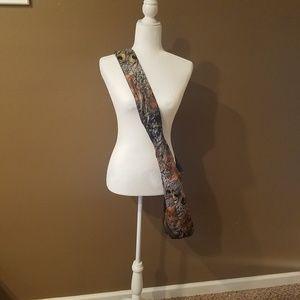 Handbags - Peacock Purse / Shoulder Bag with Silver Glitter